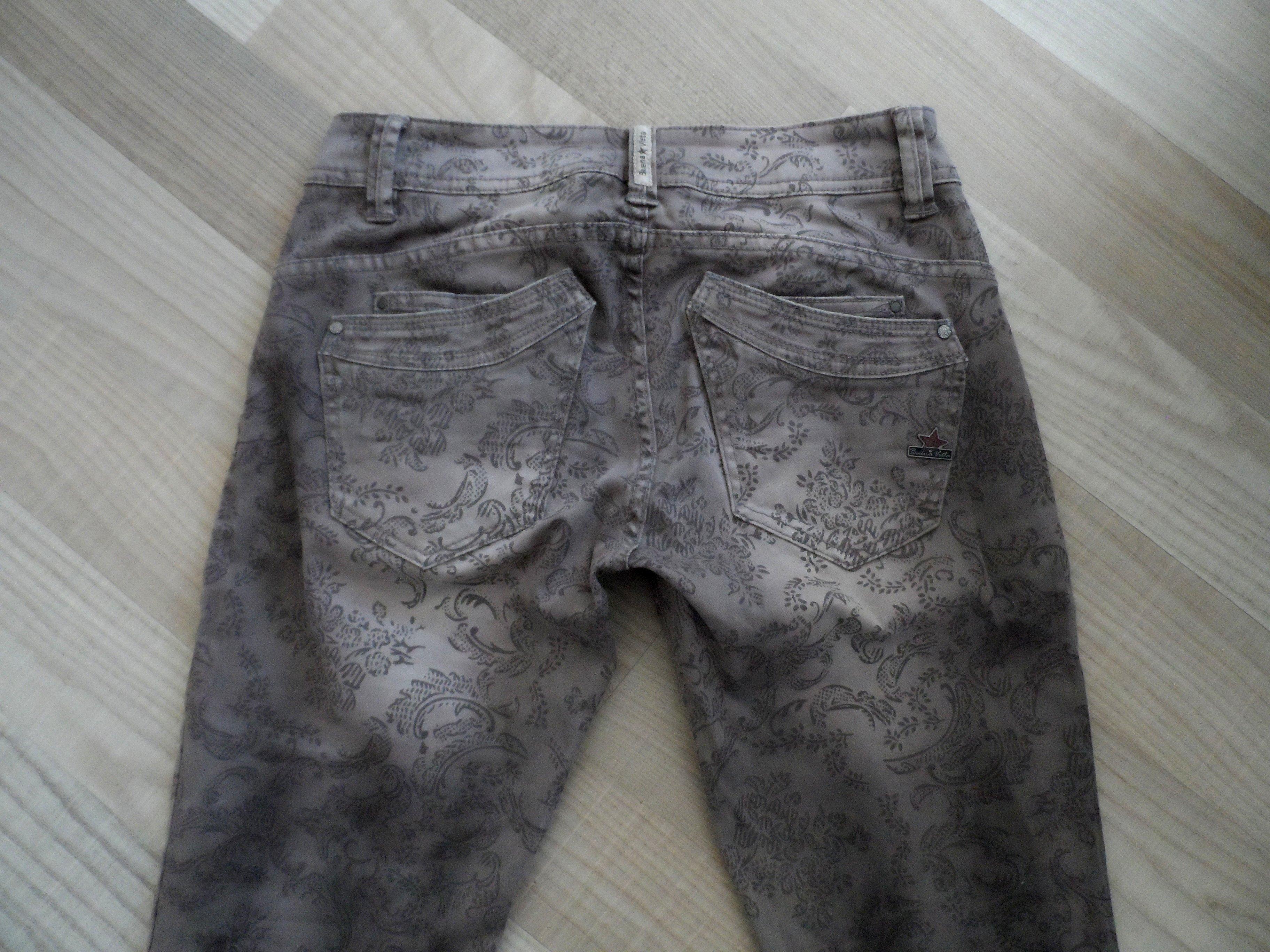 buena vista jeans modell malibu gr xs grau mit coolen. Black Bedroom Furniture Sets. Home Design Ideas