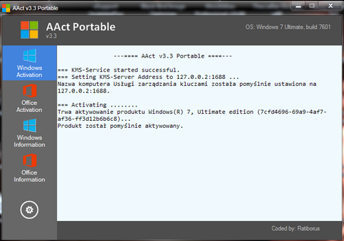 AAct 3.3 - KMS-activator Portable