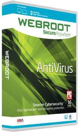 Webroot SecureAnywhere AntiVirus 9.0.15.40 + Keys